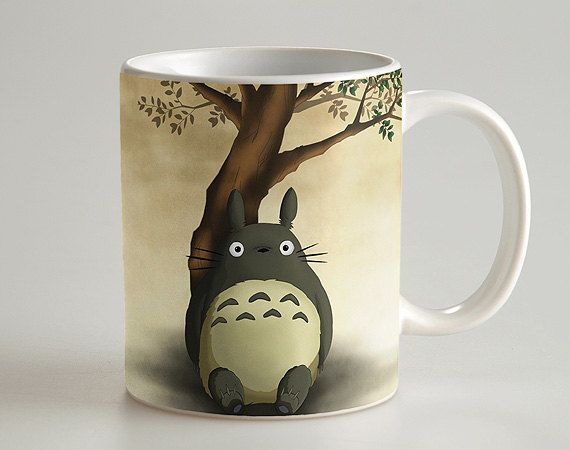 Cute My Neighbor Totoro cool photo morphing coffee mugs transforming morph mug heat changing color ceramic Tea Cups cup