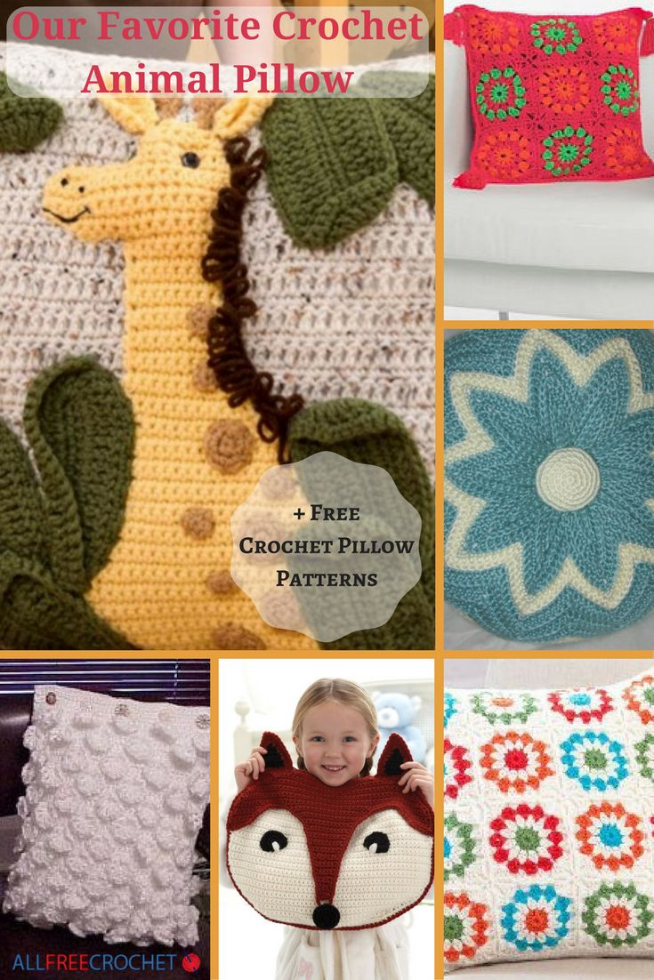 93 best crochet pillows images on Pinterest | Cojines de ganchillo ...