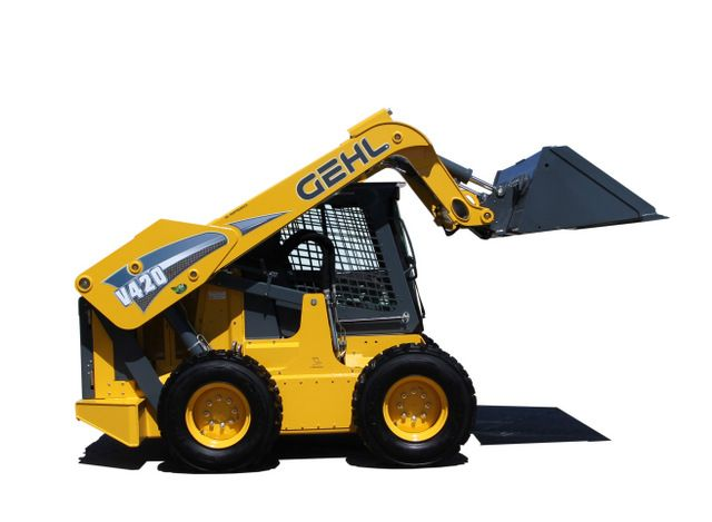 Gehl launches the worldu0027s largest skid steer (the V420 - dragline operator sample resume