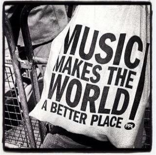 Music makes the world a better place!