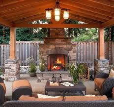 Image result for rustic outdoor living with pool