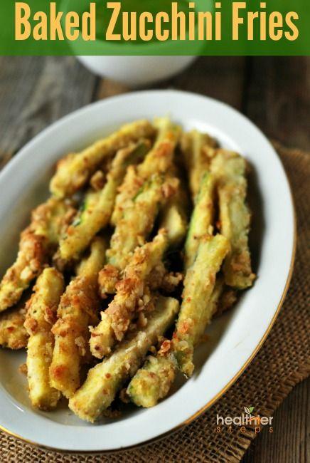 Baked Zucchini Fries (Gluten Free, Vegan) | Gluten Free and Vegan Recipes by Michelle Blackwood