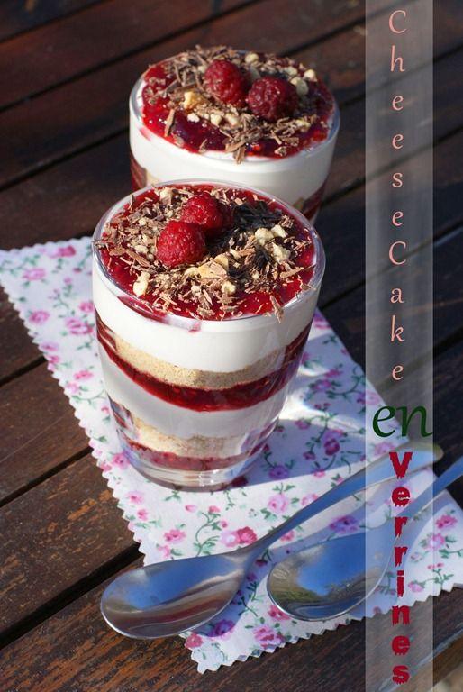 dessert confiture framboise