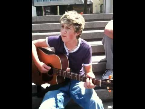 Niall Horan - One Time Why have I never seen this before?? He is so little and cute and perfect :) WHEN THEY ZOOMED IN ON HIS FACE I DIED HE IS SO PERFECT! <3 <3 <3 <3 <3 <3 <3 <3 <3 <3 <3 <3