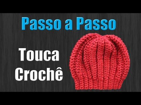 Touca de Croche Newborn - YouTube