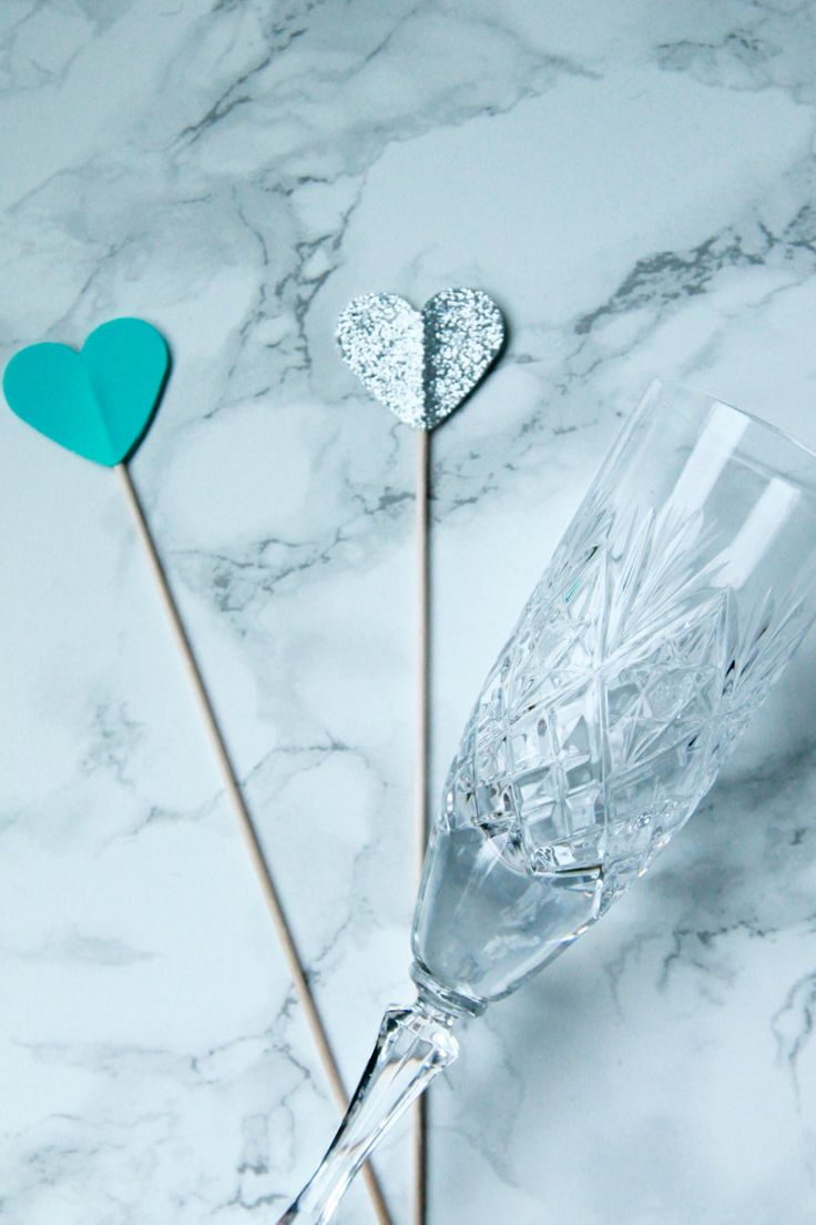 Set of 12 Tiffany & Co Inspired Drink Stirrers. Heart Shaped Drink Stirrers. Silver and Tiffany Blue Stirrers. Cocktail Stirrers by FsquaredShop on Etsy