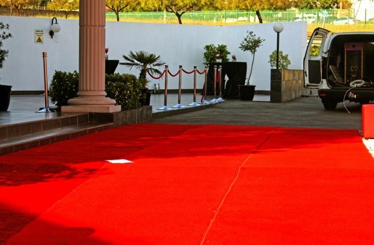 Red carpet delivered