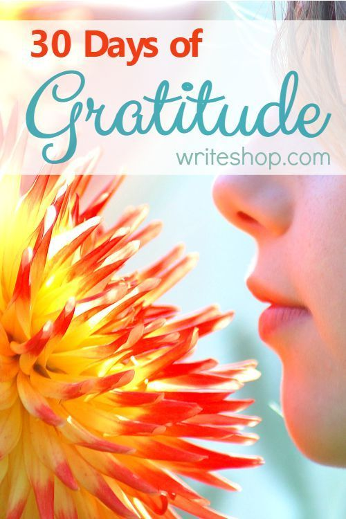 30 Days of Gratitude can refocus squabbling siblings and adjust selfish attitudes. Discover fresh ways to keep a gratitude jar or journal.