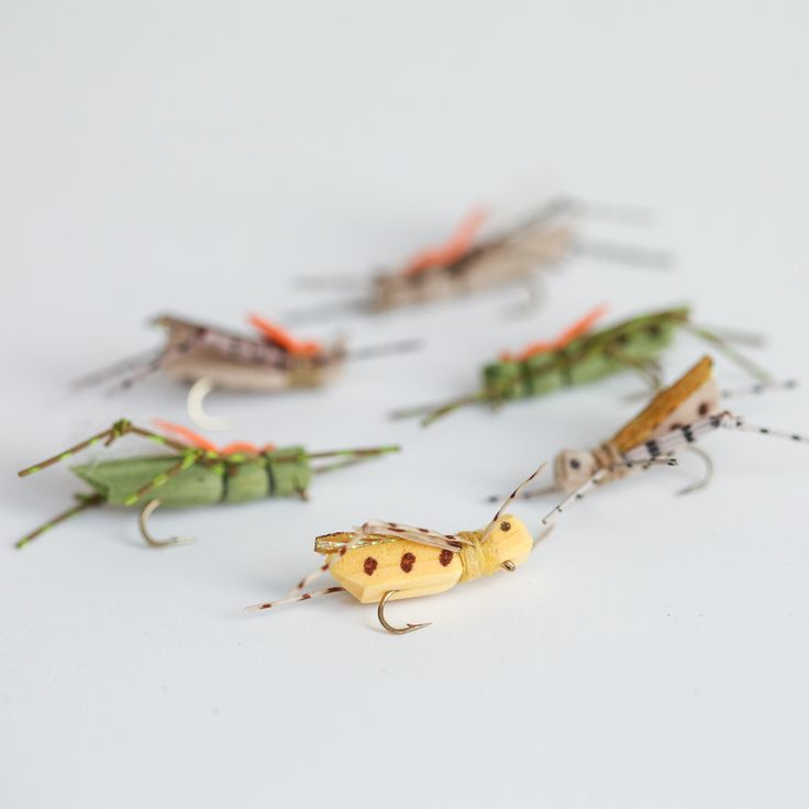 Recipes for our favorite foam flies, hoppers, ants, terrestrials, stoneflies. Find a list of the fly tying materials you will need plus a link to our tutorial on the blog.