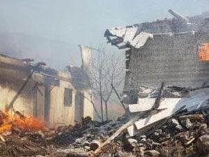 Çankırı'da yangın, 25 ev kül oldu