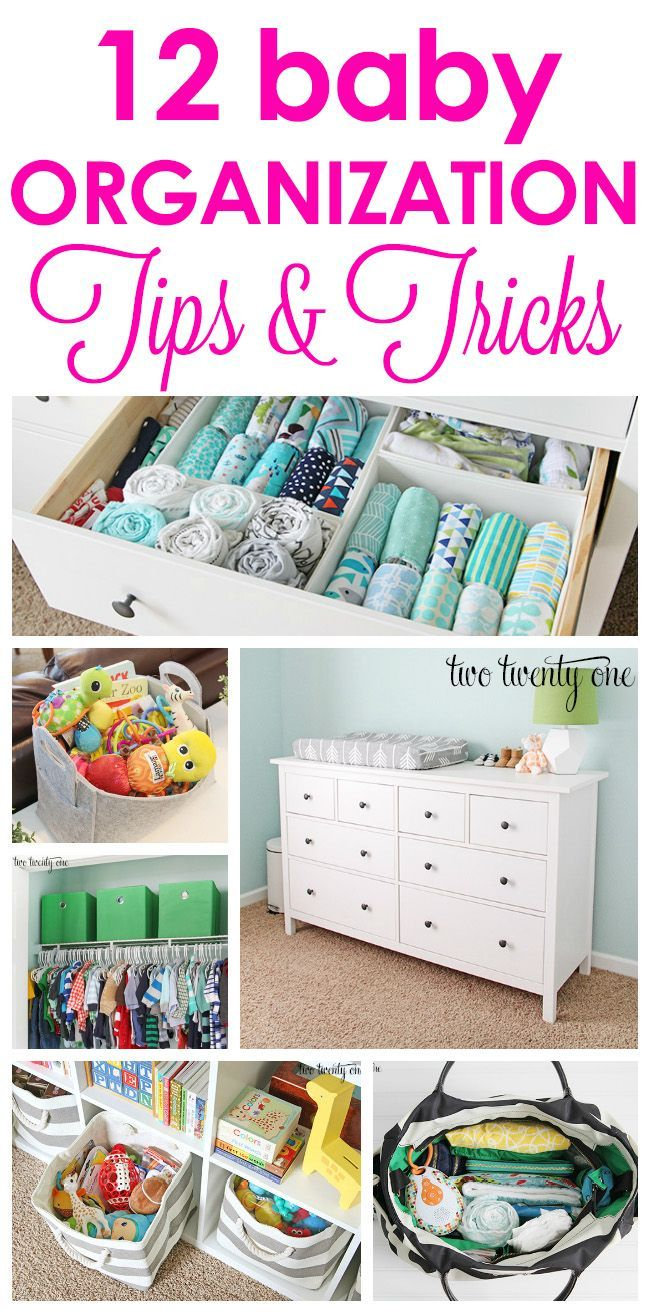 12 baby organization tips and tricks to make life easier!