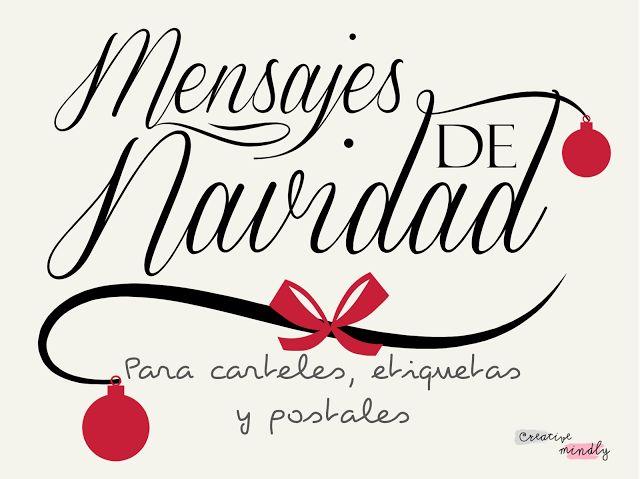 Creative Mindly: Mensajes para tarjetas y postales de navidad