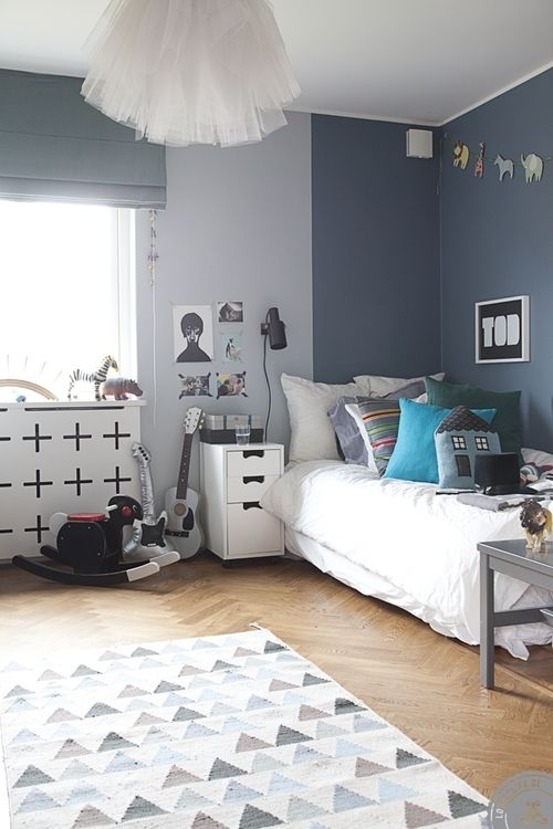 thebowerbirds:  Source: Lili Halo How cute is this kiddies room? Super sweet - a lot of the furniture is from Asplundbut you can pick it up from @Kat Miller
