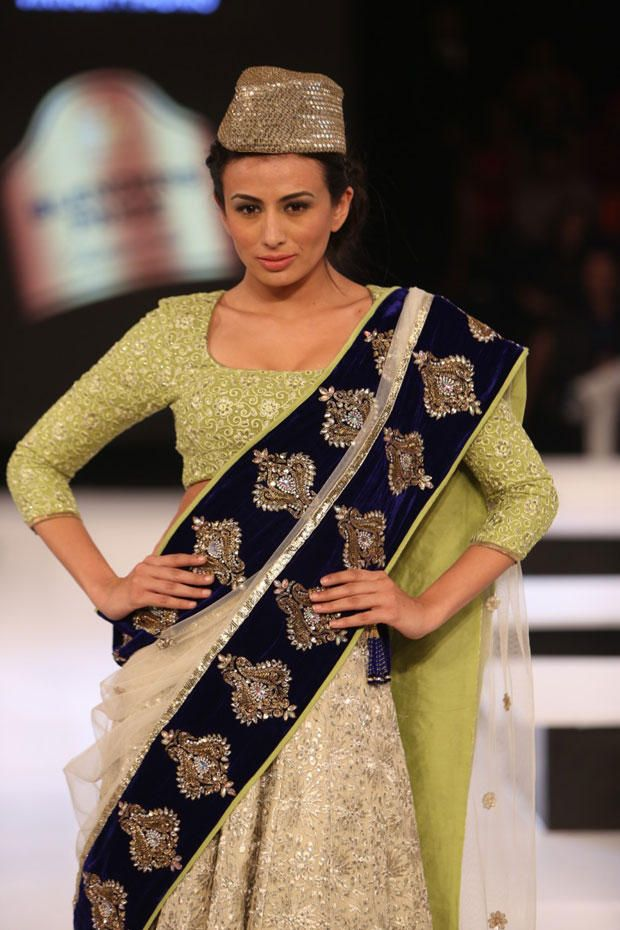 Pia On The Ramp Walk At The Blenders Pride Fashion Tour find similar lace and fabrics @ www.lacxo.com