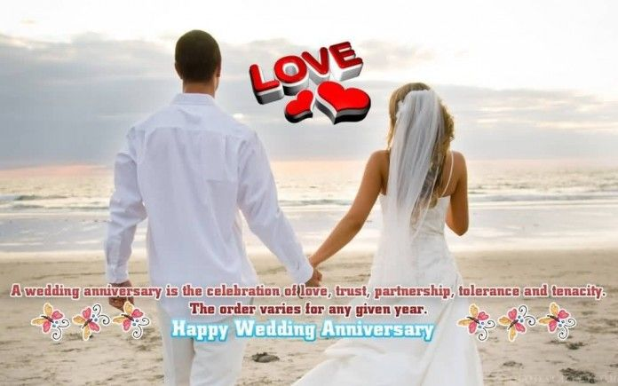Top 5  Images for wedding anniversary wishes