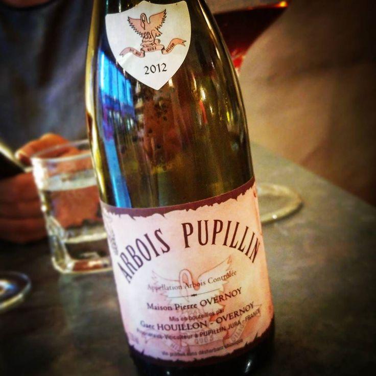 My favorite drink ... #overnoy #jura #poulssard #arbois #pupillin #Vineyard #winecellar #winetasting #tasting #chardonnay #vines #nature #pierreovernoy #ploussard #sommlife #somm #vignoble #Wine #winelover #naturalwine #organicwine #vin #vinnaturel #instawine #viticulture #winetime #wineporn #winegeek #arboispupillin #houillon