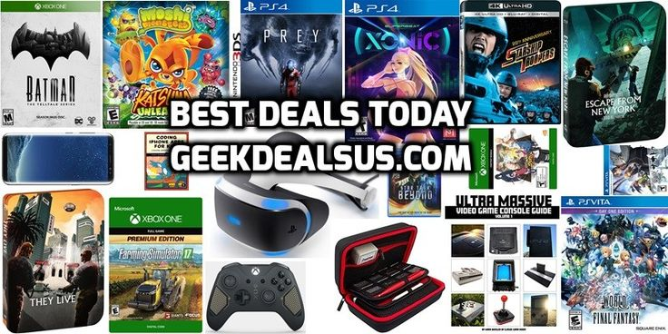 Gaming Deals PS4 Deals: PlayStation VR for $349.99 (-13%) – Amazon Prey for $39.99 (-33%) – Amazon Pyre [Digital Code] for $17.99 (-10%) – Amazon Superbeat: XONiC for $28.74 (-28%) –...