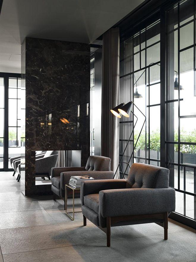 Dsquared restaurant ceresio 7 design interiors for Dsquared ceresio 7