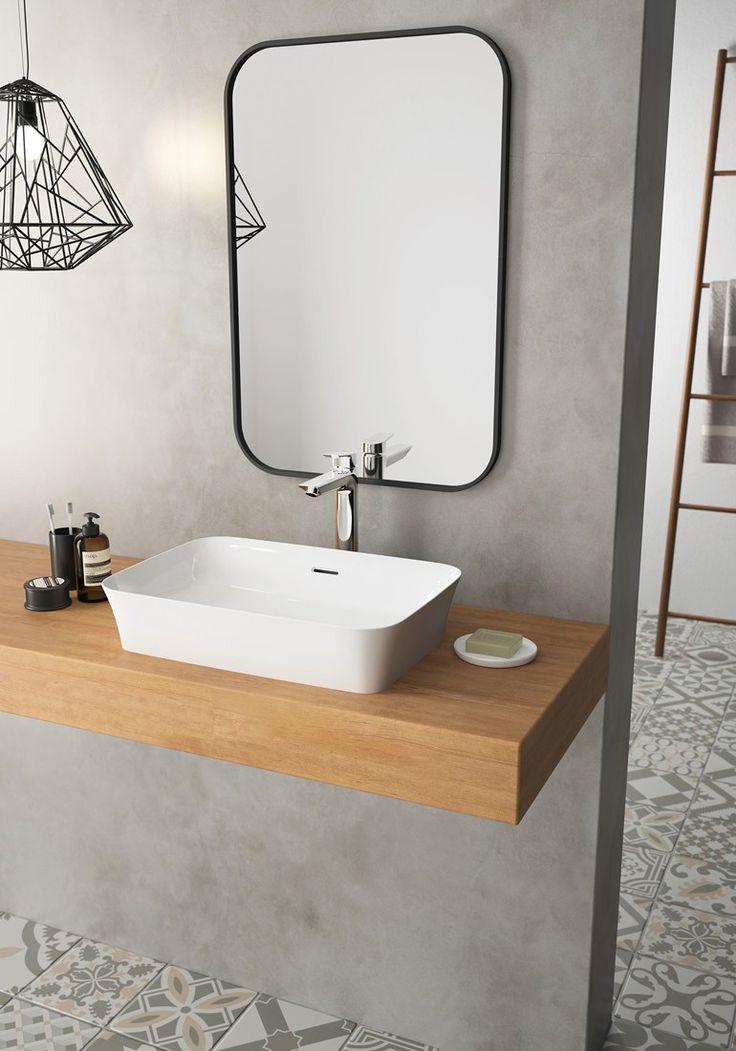Countertop rectangular single washbasin IPALYSS by Ideal Standard