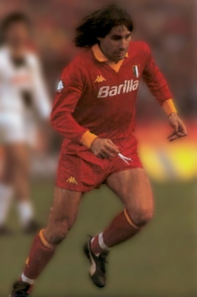 Bruno Conti (Nettuno, 13 March 1955) – Bruno Conti has spent a lifetime in the Roma colours. From a promising young player to standard bearer and one of the stars of the 1982 World Cup, this unstoppable winger was also part of one of the most moving evenings in the long history of the Stadio Olimpico. He still scouts for the club and coaches the youth team.