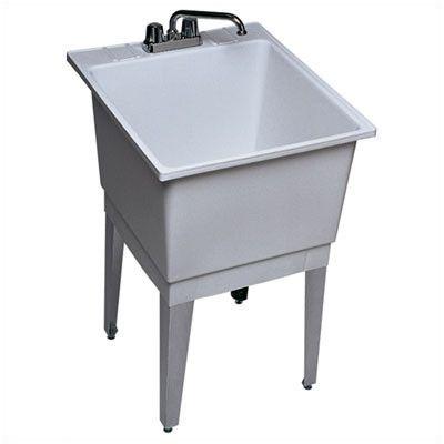 Single Bowl Utility Sink : Swanstone 22