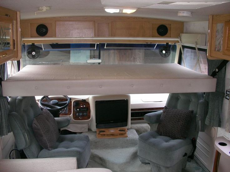 Motorhome Layout Bed Over Cab Buscar Con Google