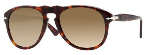Persol PO0649 24/51 Havana Sunglasses with Brown Faded Lenses 52mm Persol.