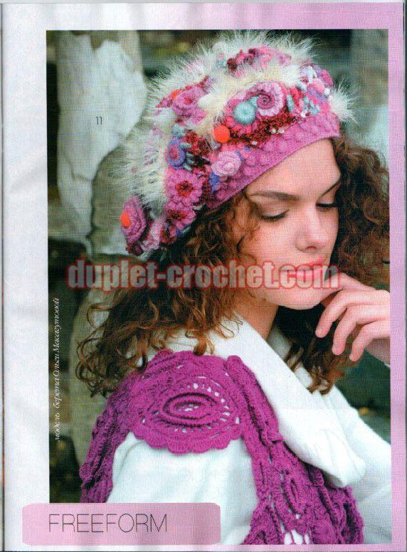 October 2016 Journal Jurnal Zhurnal MOD 602 crochet n knit patterns book magazine