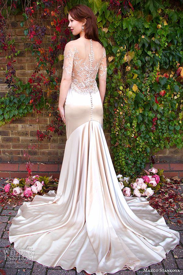 Margo Stankova 2015 Wedding Dresses — Peony Bridal Collection   Wedding Inspirasi