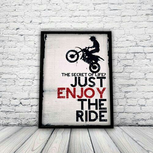 Just enjoy the ride