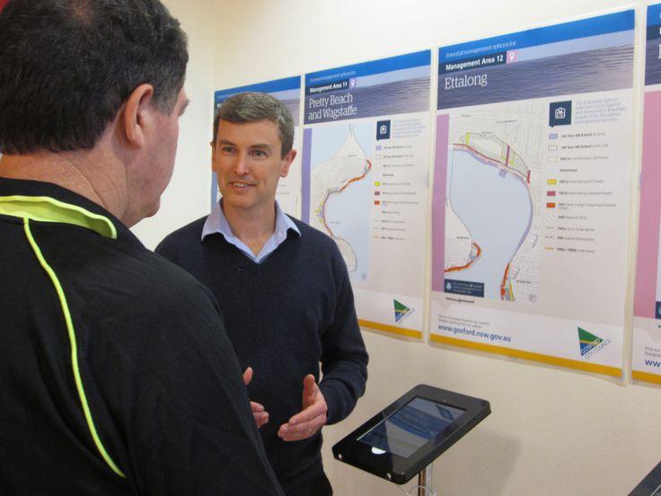 Jeff Egan undertaking community consultation