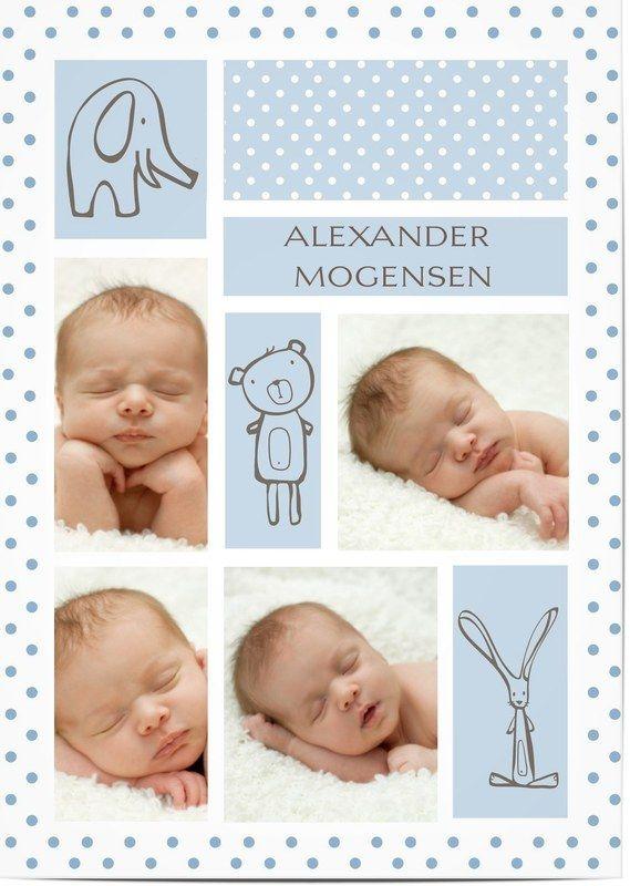Dåbsinvitationer | Dåbskort | Tilpassede invitationer til barnedåb | Optimalprint Danmark