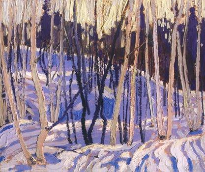 Snow Shadows - Tom Thomson