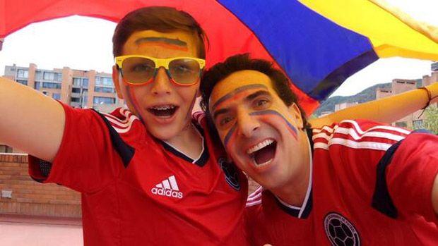 Famosos Hinchas Selección Colombia, Paparazzi - JetSet.com.co - Últimas Noticias