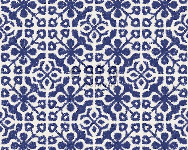eurowalls navy geometric kitsch wallpaper ginger 2016