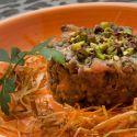 Ensalada de lentejas con mollejas de pollo confitadas .-    CHFF KARLOS ARGUIÑANO    http://www.hogarmania.com/cocina/recetas/ensaladas-verduras/201304/ensalada-lentejas-mollejas-pollo-confitadas-19483.html