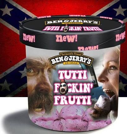 rob zombie movie house of 1000 corpses ice cream :)