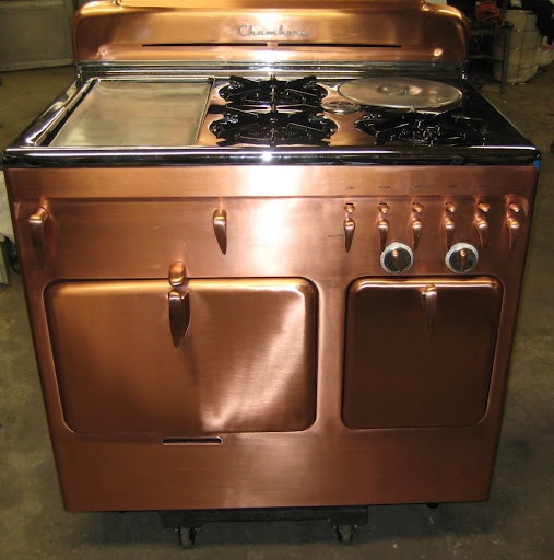 Restored Vintage Electric Stoves ~ Best images about restored stoves some are by the stove