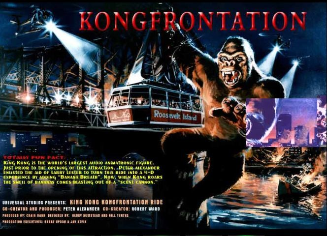 Kongfrontation Totally Fun Fact Sheet | Theme Park ...
