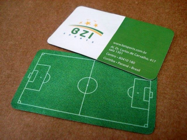 Ideia para uma escolinha de futebol.