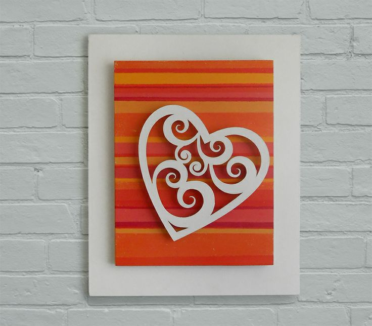 love! :: painted striped background :: La loca de enfrente