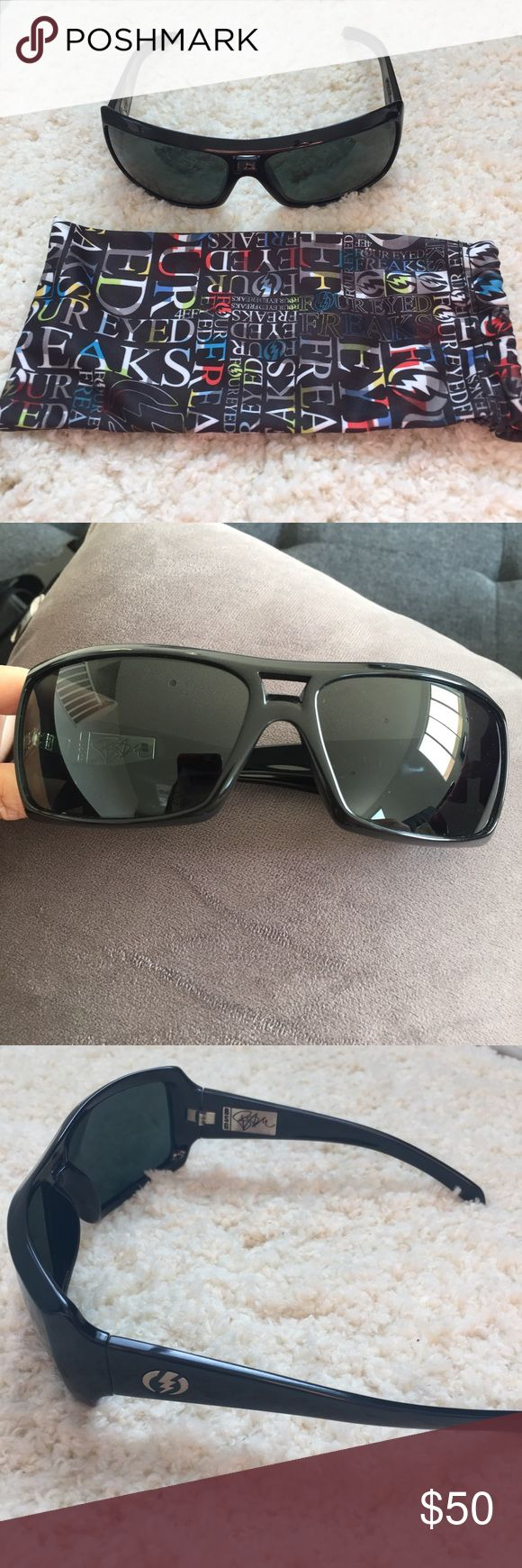 Polarized Electric sunglasses BSG Gently used, in good condition. Electric BSG sunglasses. Accessories Sunglasses