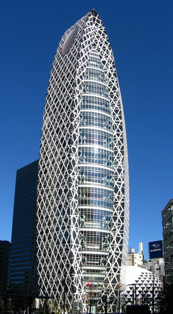 Mode Gakuen Cocoon Tower, Tokyo, Japan by Kenzo Tange Associates :: 50