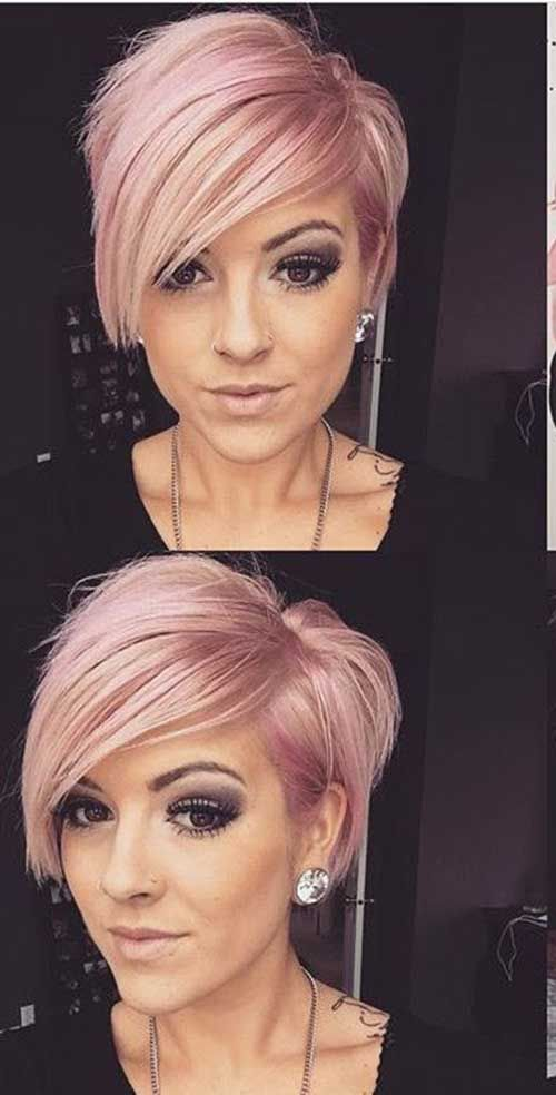 Short Hair Ideas for Round Faces 2017 - Styles Art