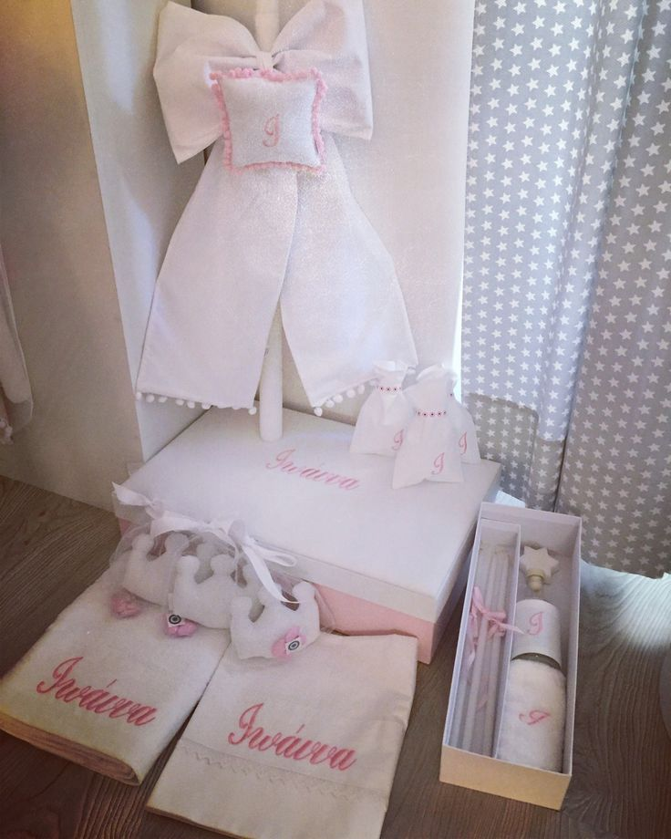 Baby Ioanna's customized christening by cottonprince.gr