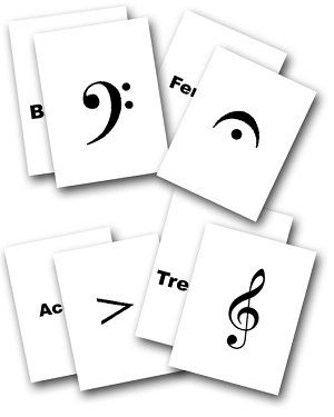 Download and Print Your Own FREE Music Flash Cards!
