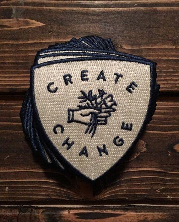 Take Heart Apparel Co. - Create Change Patch
