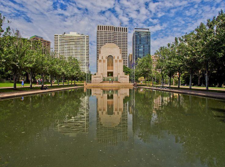 Anzac War Memorial Hyde Park Sydney