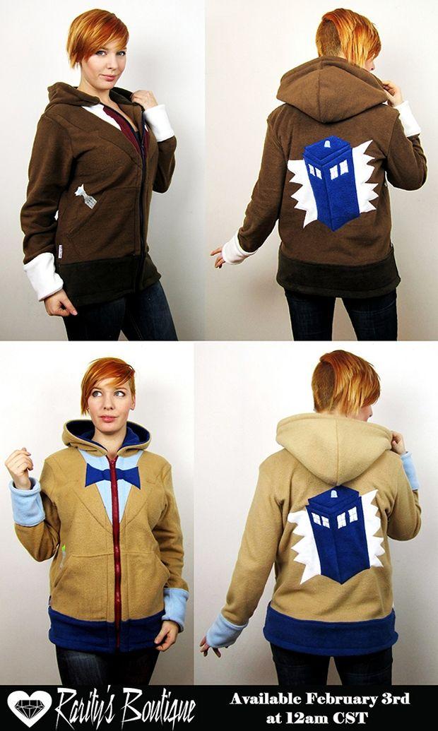 Doctor Who TARDIS Hoodies