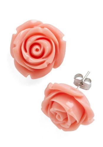 Retro Rosie Earrings, #ModCloth